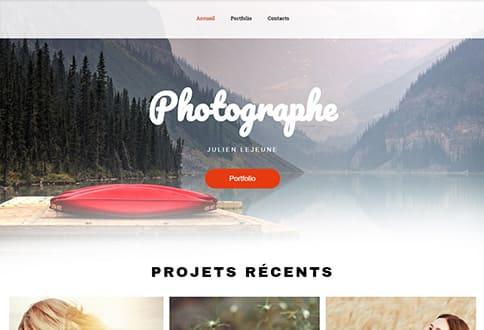 Créer un site de photos