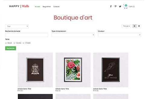 Créer un site de vente