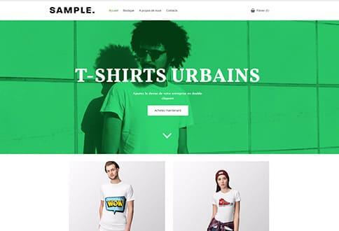 Créer un site de vêtements dropshipping